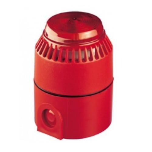 BEACON CONV/L Flashing SNDR/STRB Red D/B