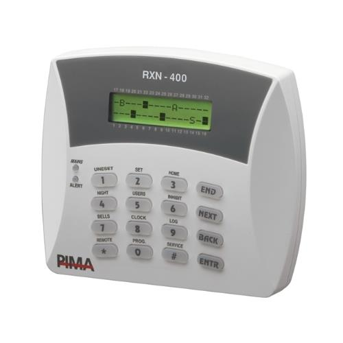 8410083 - RXN-400 LCD KEYPAD SMALL WITH