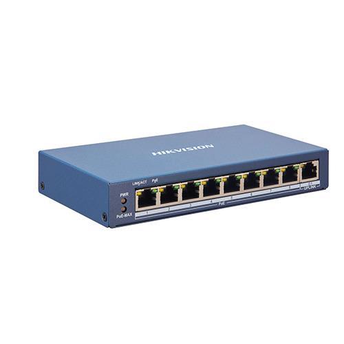 NETWERK SWITCH SMART 8xPoE 100Mbps 1xGb