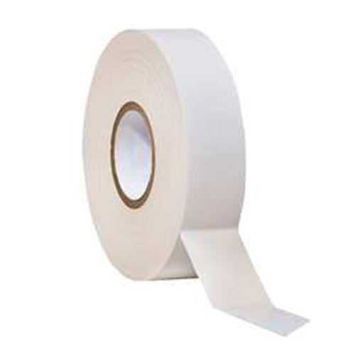 Tape PVC 19mm x 20M White
