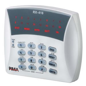 8410058 RXN 416 LED KEYPAD 16 ZONE LEDS