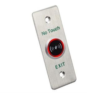 RTE BUTTON Slimline metal, LED indicator