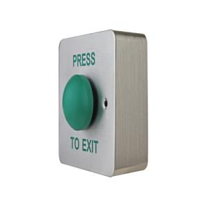 RTE BUTTON SS Green Dome Surface Eng PTE
