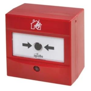 APOLLO ADDRESSABLE INTELLIGENT MANUAL CALL POINT IN RED