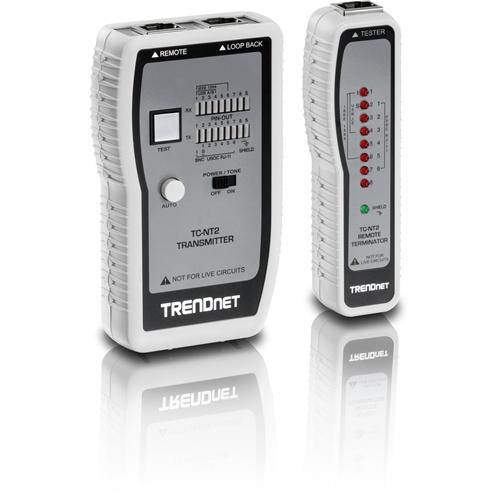 TRENDnet TC-NT2 Cable Analyzer - Upto 0.30 km Lenght Measurement