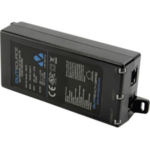 Veracity OUTSOURCE VOR-OS PoE Injector - 56 V DC, 350 mA Output - 1 10/100/1000Base-T Input Port(s) - 1 10/100/1000Base-T Output Port(s)