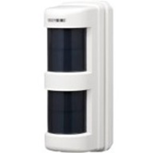 Takex TX-114FR Motion Sensor - Wireless - Yes - 12 m Motion Sensing Distance - Wall-mountable, Pole-mountable - Indoor/Outdoor - Acrylonitrile Ethylene Styrene (AES) Resin