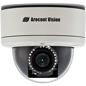 Arecont Vision MegaDome 2 AV10255PMIR-SH 10 Megapixel Network Camera - Colour - 15 m Night Vision - H.264, Motion JPEG, MPEG-4 - 3648 x 2752 - 4 mm - 8 mm - 2x Optical - CMOS - Cable - Dome - Corner Mount, Pole Mount, Pendant Mount, Wall Mount, Flush Mount