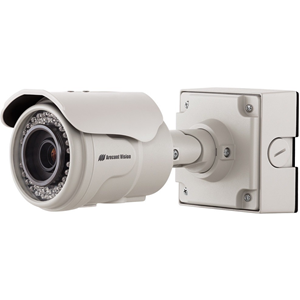 Arecont Vision MegaView 2 AV1225PMIR-S 1.2 Megapixel Network Camera - 1 Pack - Colour - 30.48 m Night Vision - Motion JPEG, H.264, MPEG-4 - 1280 x 960 - 3 mm - 9 mm - 3x Optical - Cable - Bullet - Pole Mount, Corner Mount, Wall Mount