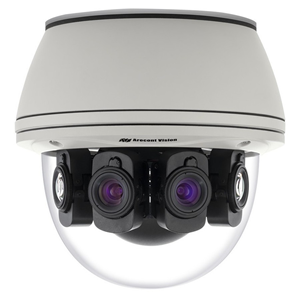 Arecont Vision SurroundVideo AV20585PM 20 Megapixel Network Camera - Colour - Motion JPEG, MPEG-4, H.264 - 10240 x 1920 - 6.20 mm - CMOS - Cable - Dome - Surface Mount, Ceiling Mount, Flush Mount, Wall Mount, Pendant Mount, Pole Mount