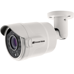 Arecont Vision MicroBullet AV3326DNIR 3 Megapixel Network Camera - Colour - 15.24 m Night Vision - Motion JPEG, H.264, MPEG-4 - 2048 x 1536 - 2.80 mm - 8 mm - 2.9x Optical - CMOS - Cable - Bullet - Wall Mount