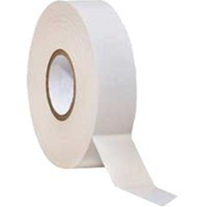 W Box Insulating Tape - 19 mm Width x 20 m Length - Flame Retardant, Weather Resistant, Cold Resistant, Sunlight Resistant - 5 Pack - White