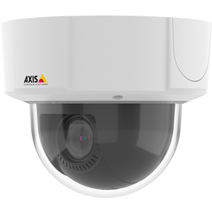 AXIS M5525-E Network Camera - Monochrome, Colour - Motion JPEG, H.264, MPEG-4 AVC - 1920 x 1080 - 4.70 mm - 47 mm - 10x Optical - CMOS - Cable - Dome - Recessed Mount, Wall Mount, Ceiling Mount, Pole Mount, Parapet Mount, Pendant Mount, Corner Mount