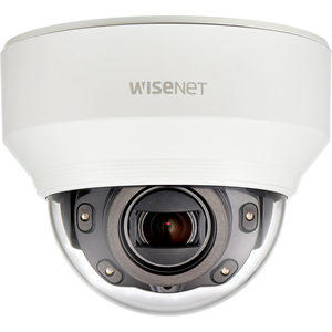 Hanwha Techwin WiseNet XND-6080R 2 Megapixel Network Camera - Colour - 30 m Night Vision - MPEG-4 AVC, Motion JPEG, H.264, H.265 - 1920 x 1080 - 2.80 mm - 12 mm - 4.3x Optical - CMOS - Cable - Dome - Wall Mount, Ceiling Mount