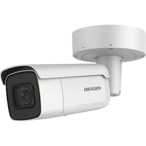 Hikvision EasyIP 3.0 DS-2CD2625FWD-IZS 2 Megapixel Network Camera - Colour - 50 m Night Vision - H.264+, H.264, H.265, H.265+, Motion JPEG - 1920 x 1080 - 2.80 mm - 12 mm - 4.3x Optical - CMOS - Cable - Bullet - Corner Mount, Pole Mount