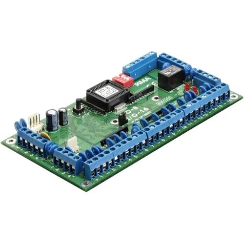 PIMA I/O-16 Alarm Control Panel Expansion Module - For Control Panel - Polycarbonate