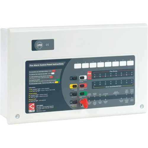 C-TEC Fire Alarm Control Panel - 4 Zone(s)
