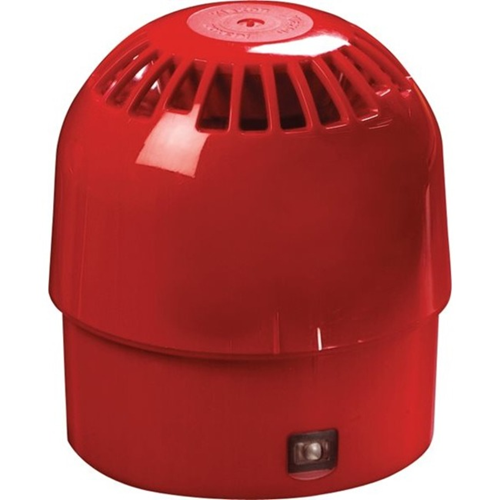 Apollo Security Alarm - 28 V DC - 100 dB(A) - Audible - Red