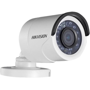 Hikvision Turbo HD DS-2CE16C0T-IRF 1 Megapixel Surveillance Camera - Colour - 20 m Night Vision - 2.80 mm - CMOS - Bullet - Junction Box Mount