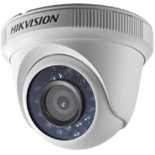 Hikvision Turbo HD DS-2CE56C0T-IRF 1 Megapixel Surveillance Camera - Colour - 20 m Night Vision - 2.80 mm - CMOS - Turret - Wall Mount, Pole Mount, Corner Mount, Junction Box Mount