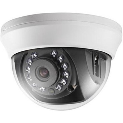 Hikvision Turbo HD DS2CE56D0TIRMMF 2 Megapixel Surveillance Camera - Colour - 20 m Night Vision - 1920 x 1080 - 2.80 mm - CMOS - Cable - Dome