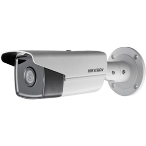 Hikvision EasyIP 3.0 DS-2CD2T25FWD-I8 2 Megapixel Network Camera - Colour - 80 m Night Vision - H.264+, Motion JPEG, H.264, H.265, H.265+ - 1920 x 1080 - 12 mm - CMOS - Cable - Bullet - Junction Box Mount