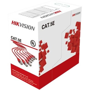 Hikvision Category 5e Data Transfer Cable for Network Device - 304.80 m - Bare Wire - Bare Wire
