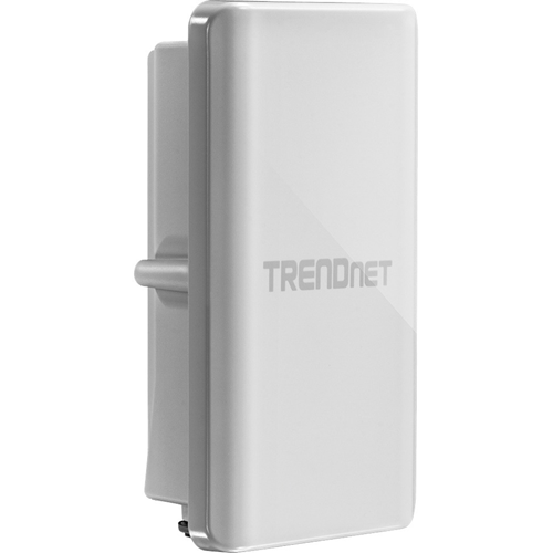 TRENDnet TEW-738APBO IEEE 802.11n 300 Mbit/s Wireless Access Point - ISM Band - 8 km Maximum Outdoor Range - 1 x Network (RJ-45) - PoE Ports - Pole-mountable, Wall Mountable