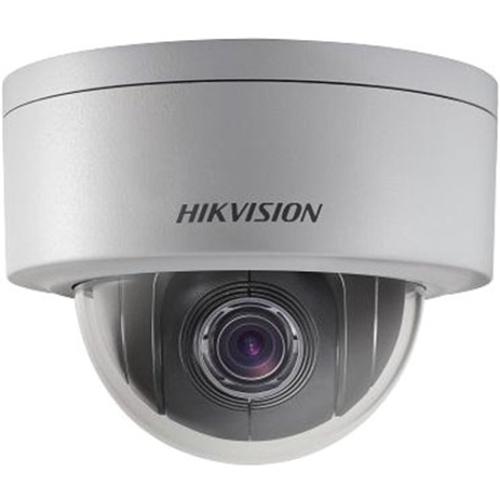 Hikvision DS-2DE3304W-DE Network Camera - Monochrome, Colour - Motion JPEG, H.264 - 2048 x 1536 - 2.80 mm - 12 mm - 4.3x Optical - CMOS - Cable - Dome - Wall Mount, Ceiling Mount