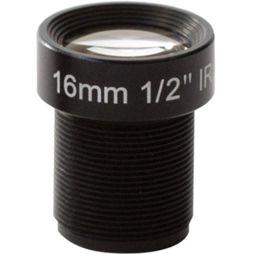 AXIS - 16 mm - Fixed Lens for M12-mount - Designed for Surveillance Camera - 1.6 mmDiameter