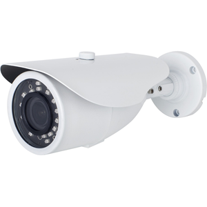 W Box WBXIB28122MW 2 Megapixel Network Camera - Monochrome, Colour - 40 m Night Vision - Motion JPEG, H.264, H.265 - 1920 x 1080 - 2.80 mm - 12 mm - 4.3x Optical - CMOS - Cable - Bullet