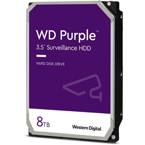"WD Purple 8 TB 3.5"" Internal Hard Drive - SATA - 256 MB Buffer"