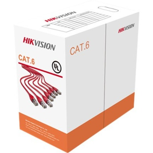 Hikvision DS-1LN6-UU Category 6 Network Cable for Network Device - 305 m - Bare Wire - Bare Wire - Multi