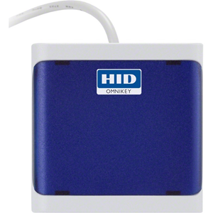 HID OMNIKEY 5022 Contactless Smart Card Reader - Dark Grey - CableUSB 3.0