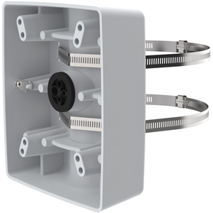 AXIS T91B57 Pole Mount for Relay Module, Surveillance Cabinet - 30 kg Load Capacity