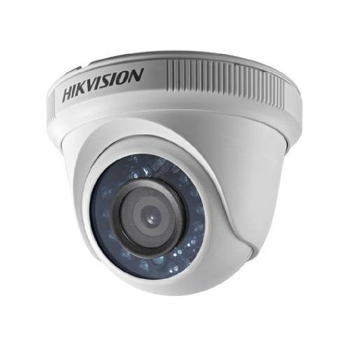 Hikvision Turbo HD DS-2CE56D0T-IRF 2 Megapixel Surveillance Camera - Colour - 20 m Night Vision - 1920 x 1080 - CMOS - Cable - Turret - Wall Mount, Pole Mount, Corner Mount, Junction Box Mount