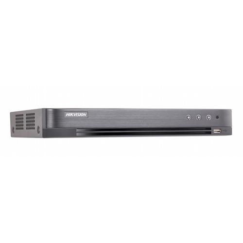 DS-7204HQHI-K1:Hik, 4CH Turbo4 DVR,AHD/Analog,1U,3MP,CVBS,H.265,No HDD