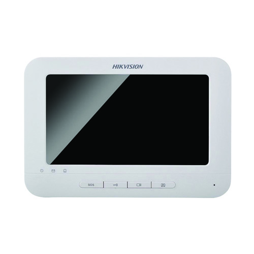 "DS-KH6310:7"" Touch-Screen Indoor Station, 7-Inch Colorful TFT LCD"
