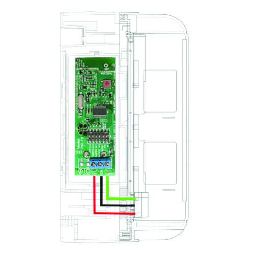 PIR-TX_V2  2 CH Battery PIR Transmitter Code - Hopping Sherlotronics