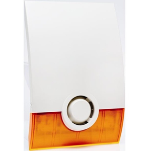 Videofied Siren - Wireless - 4.5 V DC - 100 dB(A) - Audible - Surface Mount - Orange
